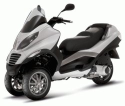 Piaggio MP3 3-wheeled scooter