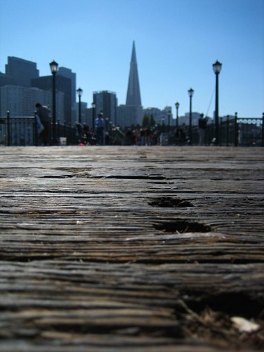 Pier 7 and the Transamerica Building