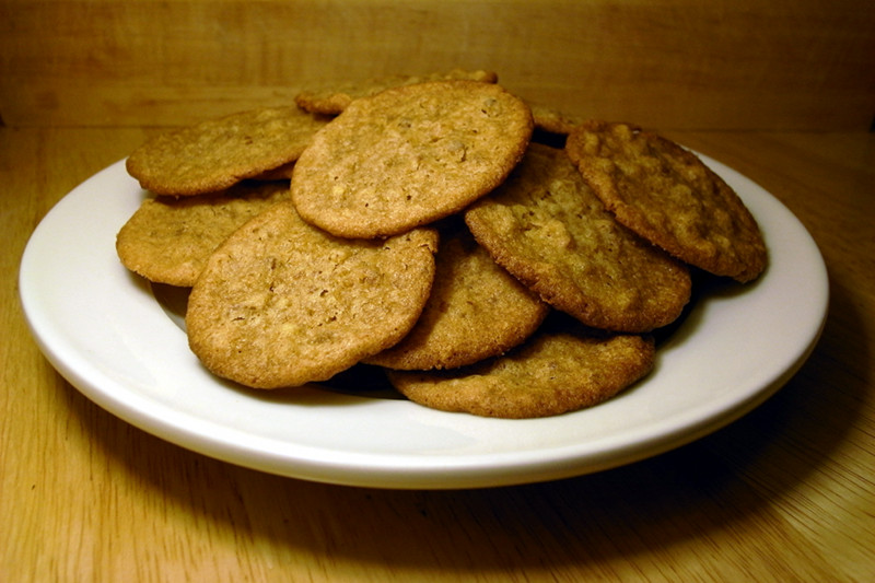 Plate of Melt-in-the-Mouth Cookies