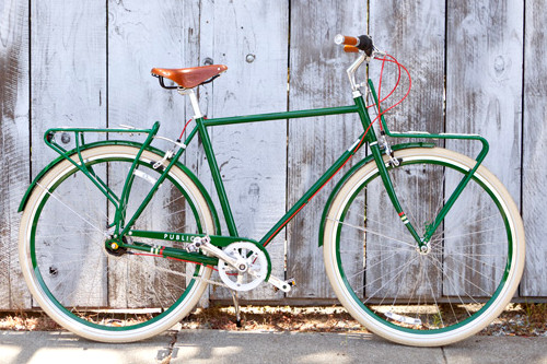PUBLIC Bike D8 in British Racing Green