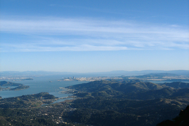 San Francisco from Mt. Tamalpais