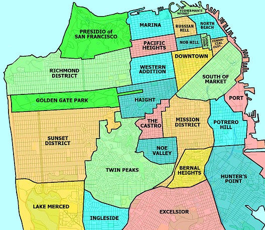 san francisco street layout colored by orientation screengrab from crayon the grids 1324 x 929. Black Bedroom Furniture Sets. Home Design Ideas