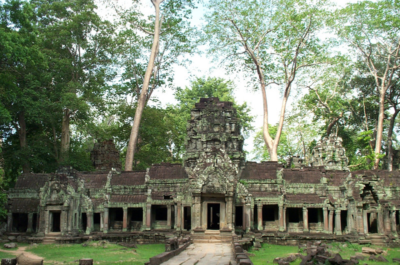 While Angkor Wat and the Bayon continue to be restored, Ta Prohm remains in a state of photogenic reclamation by the jungle
