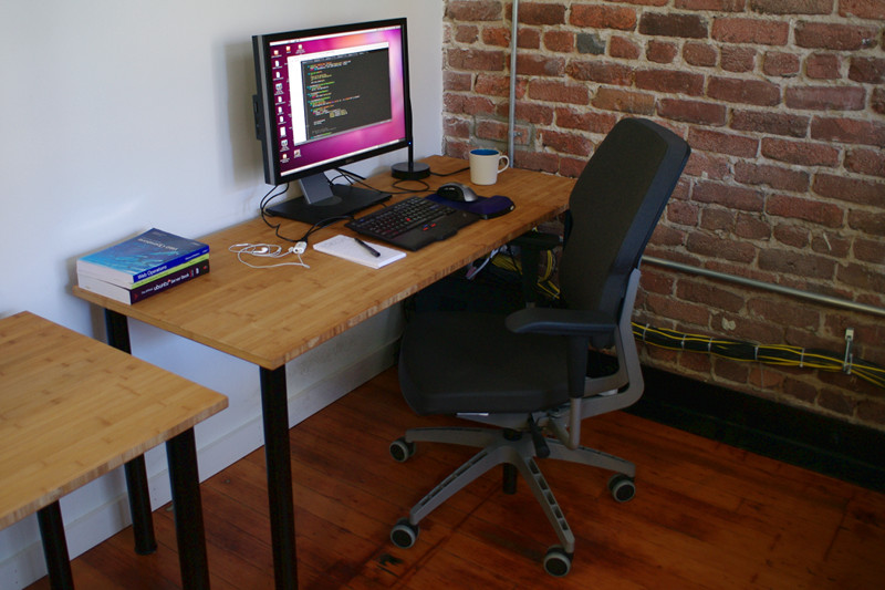 My new desk at Simpleform