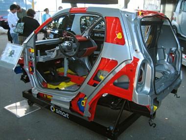 Safety Smart Fortwo Crash Test