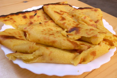 ... Socca is sort of a chickpea crepe popular in and around Nice
