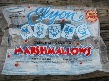 Elyon marshmallows package