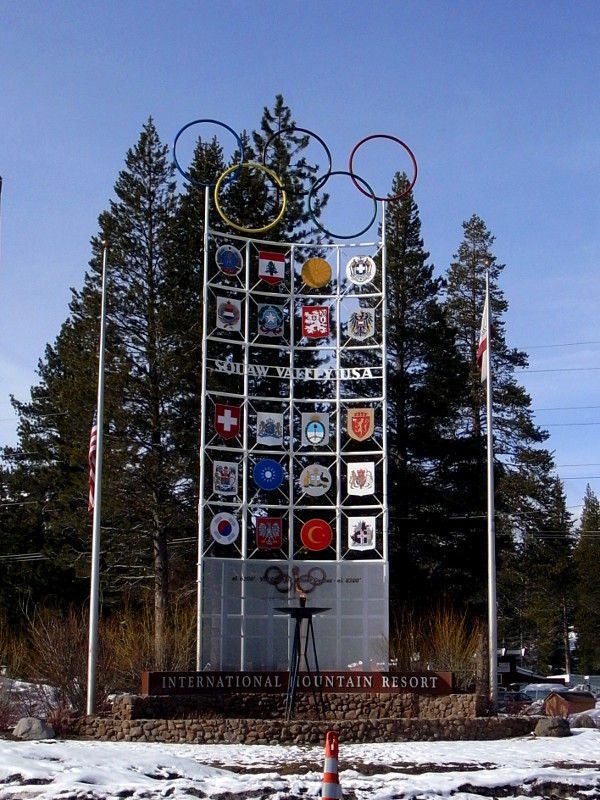 Squaw Valley sign