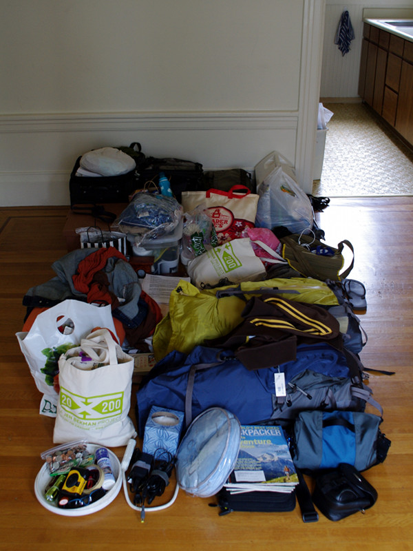 Stuff we are leaving San Francisco with
