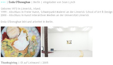 Thanksgiving painting on exhibition in Germany