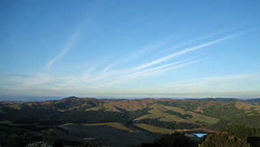 View from Inspiration Point at Tilden Park in Berkeley, CA