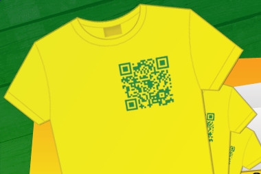 Torcedor Personalizado website t-shirt with QR Code