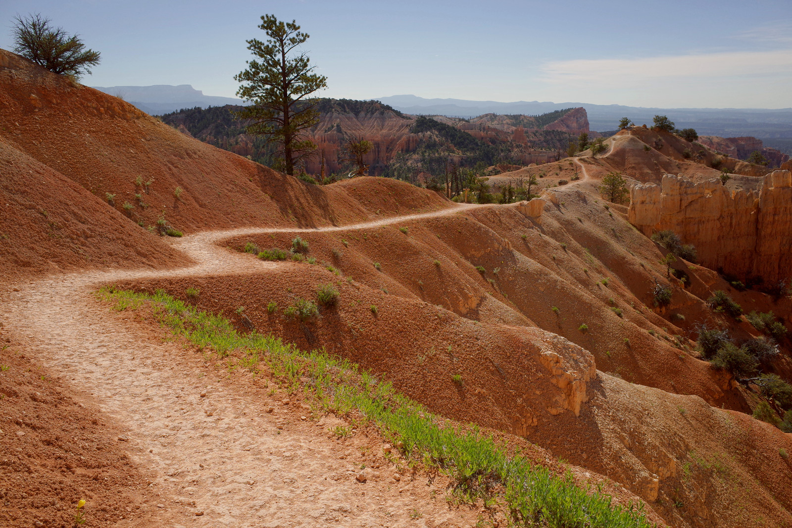 The Fairyland Loop trail in Bryce Canyon National Park