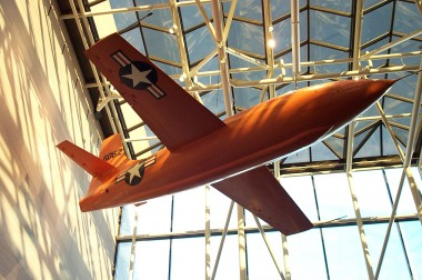 bell x-1, in the national air and space museum