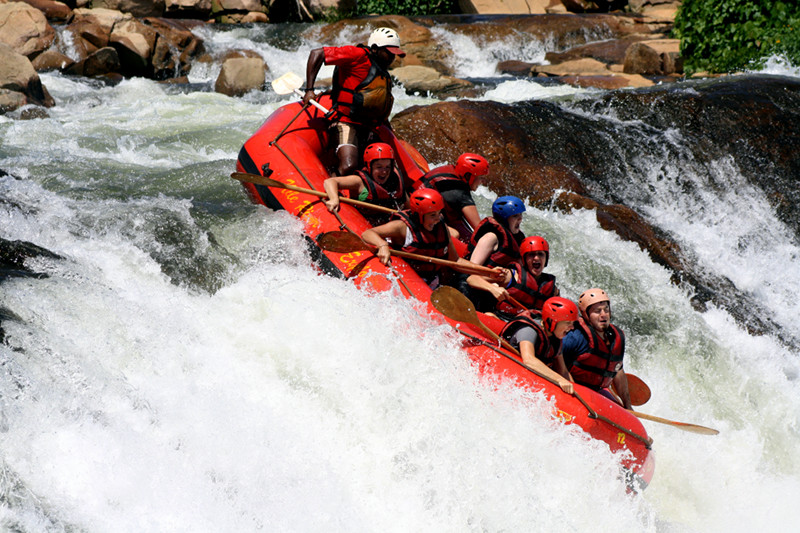 white nile whitewater first rapid 5