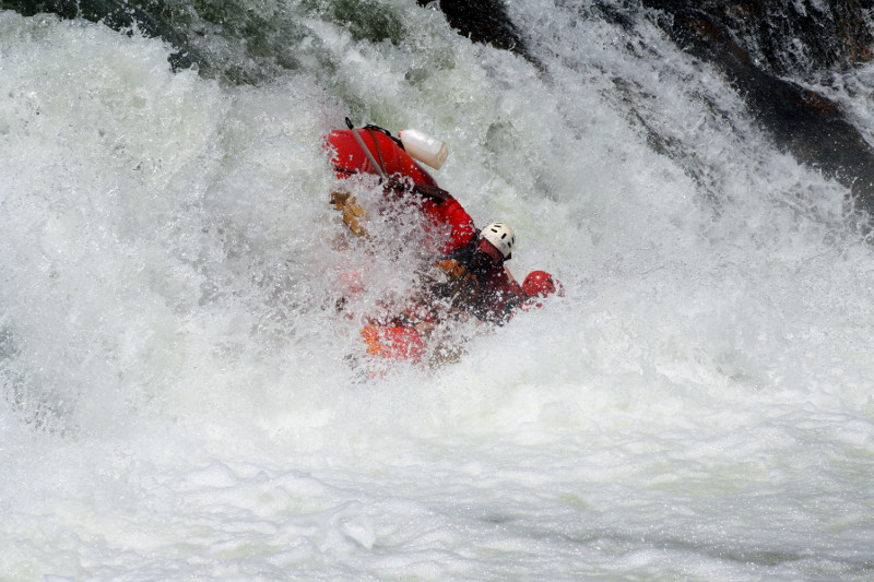 white nile whitewater first rapid 7