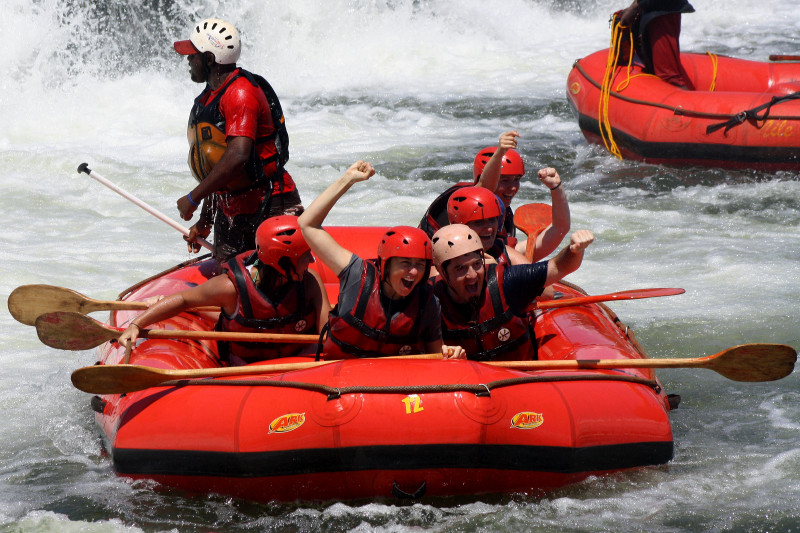 white nile whitewater first rapid 9
