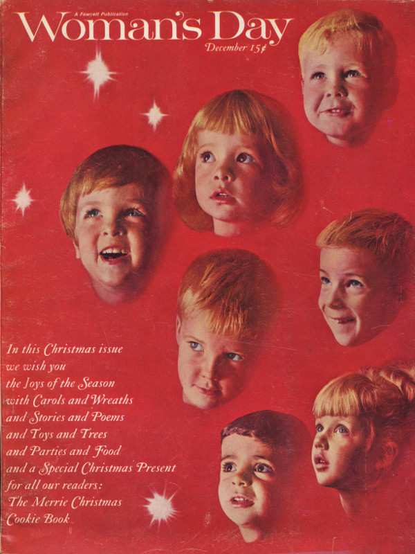 Cover of the December 1964 issue of Woman's Day