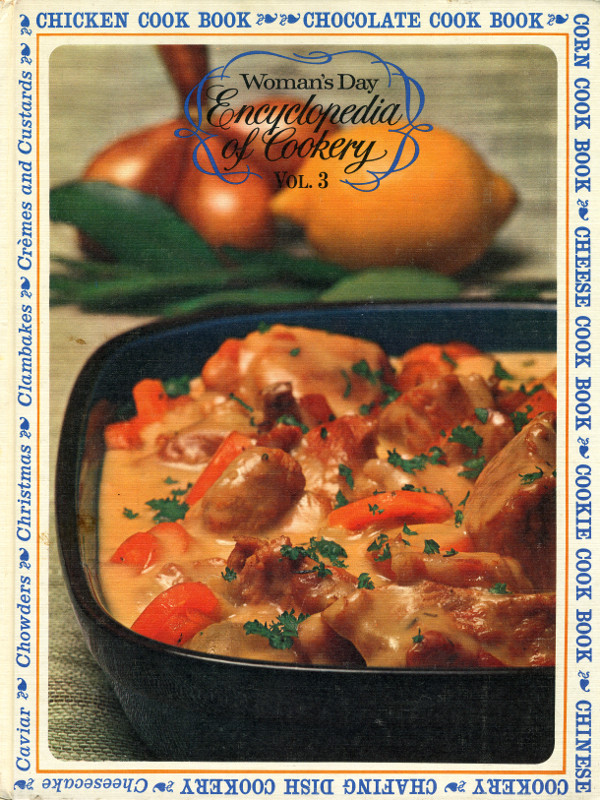 Woman's Day Encyclopedia of Cookery, Volume 3, cover