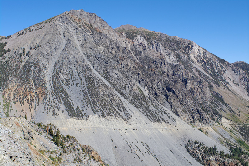 Eastern part of Tioga Road